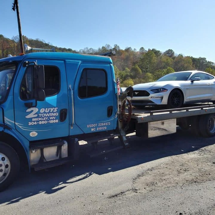 2 Guys Towing & Auto Repair | Roadside Assistance | Towing Service | Light Duty Towing | Medium Duty Towing | Accident Recovery | Fuel Delivery | Battery Service | Lockout Service | Winch -Outs | Transmission Repair | A/C Repair | Oil Change | Beckley, WV